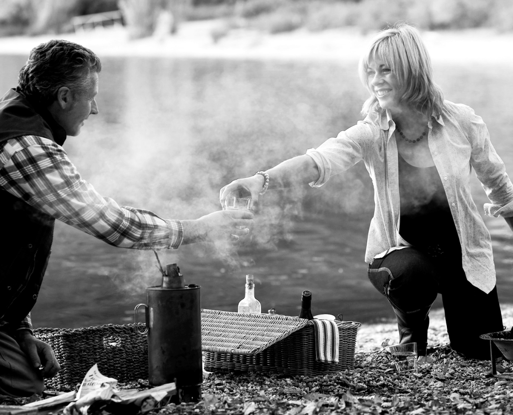 Annabel Langbein & Ted Hewetson